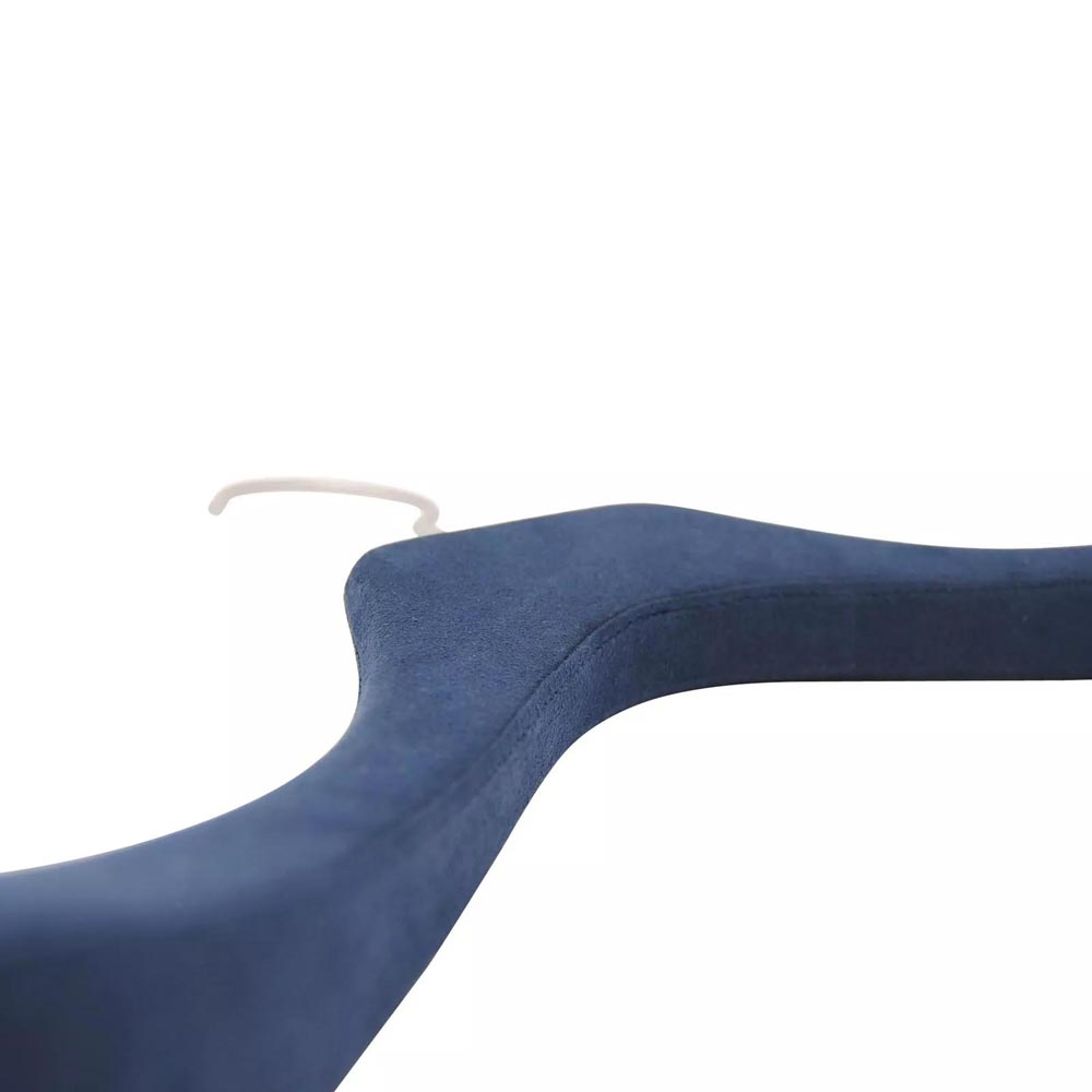 Manufacture of bespoke hangers covered with Alcantara or microfiber